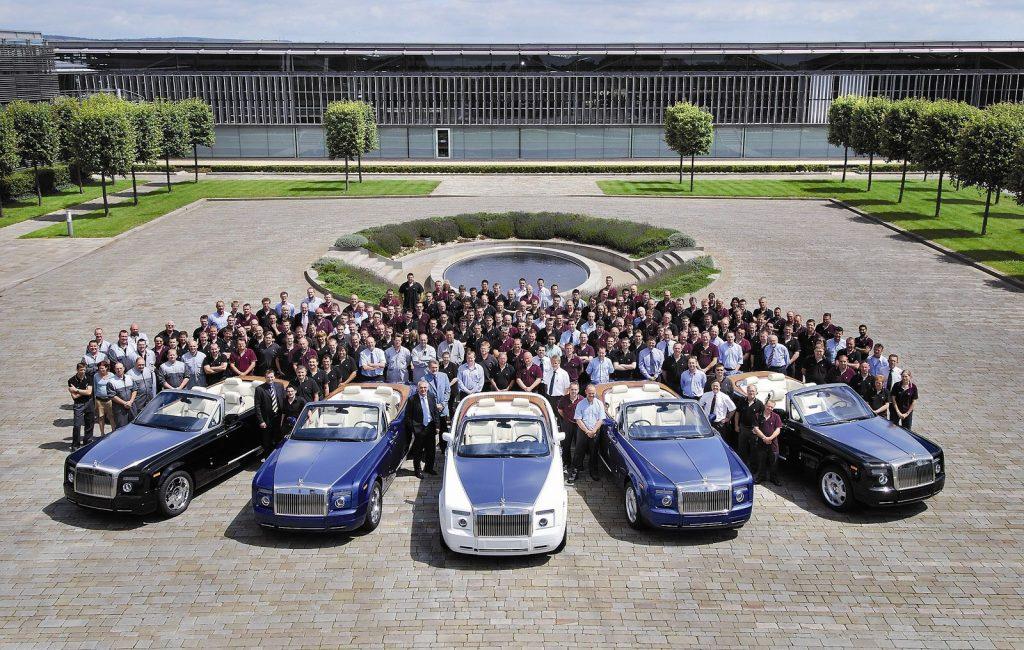 O Rolls-Royce Phantom e a história de seus 92 anos de luxo